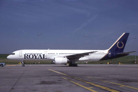 B.757-200 C-GRYK Royal Aviation Jul-98