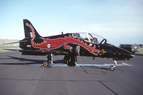 Hawk T.1 XX172 RAF/Station Flight St Athan - dragon c/s Sep-00