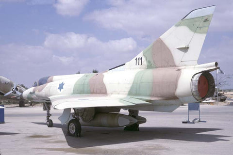 Mirage IIICJ 111 Israeli AF - Hatzerim museum Jul-98
