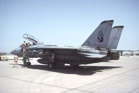 F-14A AG-203 USN/VF-11 Jul-04