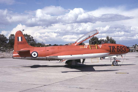 T-33A 55-8683/TR-683 Hellenic AF Apr-97