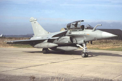 Rafale M No.02 French Navy/12F Oct-04