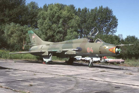 Su-22M 04 Hungarian AF/Papa based Sep-98