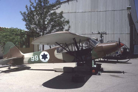 Super Cub 99 Israeli AF - Hatzerim museum Jul-98