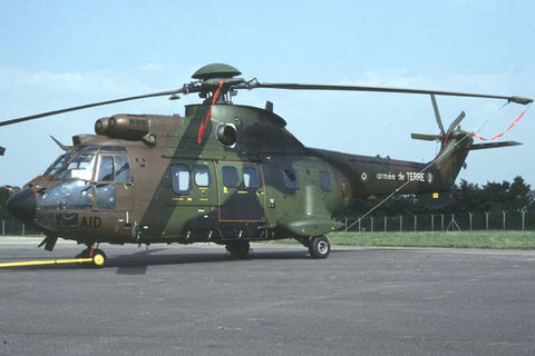 AS.532UL 2271/AID French Army/4 RHCM Jul-94