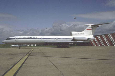 Tu-154 RA-85523 Aeroflot Jun-93