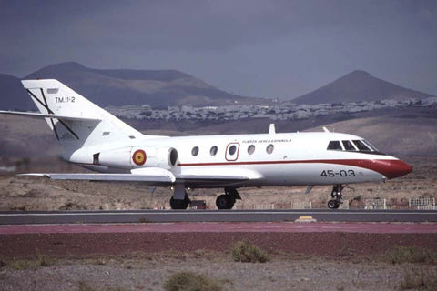 Falcon 20 TM.11-02/45-03 Spanish AF/Grupo45 Oct-01