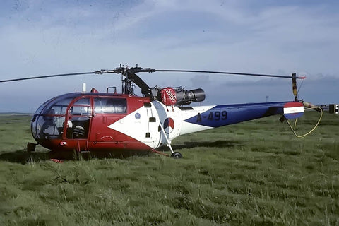 Alouette III A-499 Netherlands AF/The 'Grasshoppers' Sep-81