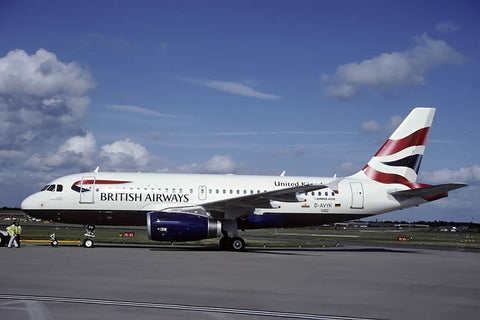 A.319-100 D-AVYK British Airways Sep-99