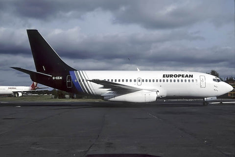 B.737-200 G-CEAI European Air Charter Oct-01