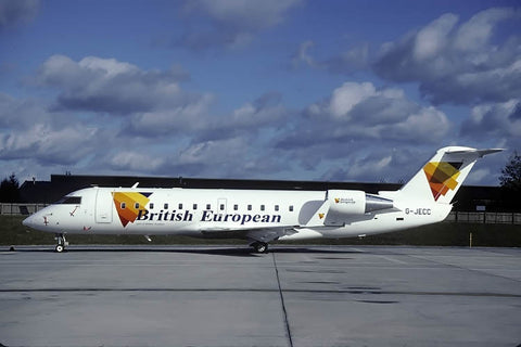 CRJ-200ER G-JECC British European no date
