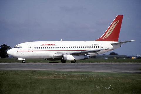 B.737-200 G-SBEB Sabre Airways Sep-96