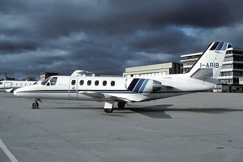 Citation II I-ARIB private Dec-82