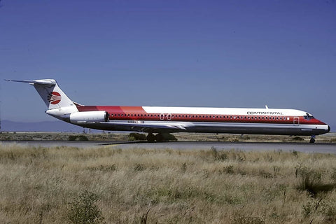MD-82 N16892 Continental Airlines - Frontier c/s Jul-88