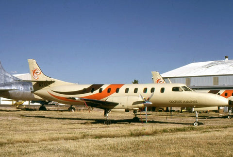 Metroliner N24AZ Cochise Airlines Mar-82