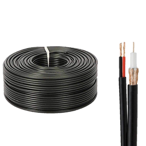 COAX RG59 + Power Cable 100m
