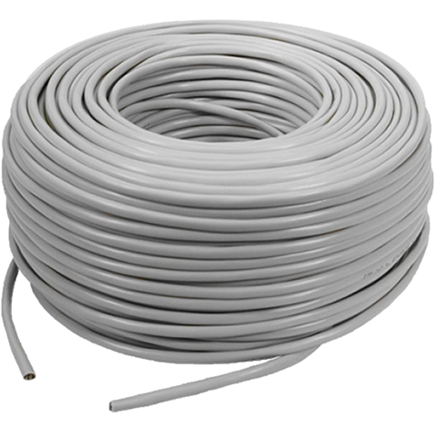 Cable CAT5E Grey 100m UTP (1000Mbps)