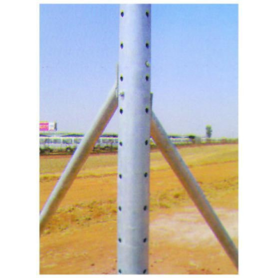 Corner Post 2mm Thick Hd Galv And Drilled For S Hook