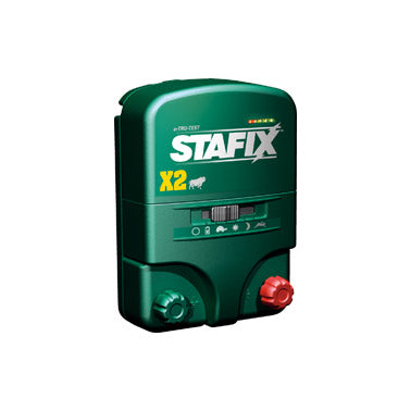 Stafix X 2 Mains/Battery Energizer
