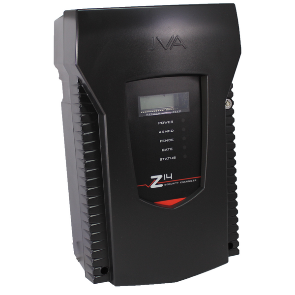 Jva Z14 1 Zone Security Energizer 5 Joule With Lcd Display