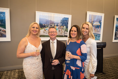 Jodie North with Tam, Ange and Sofitel Manager Terrance