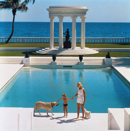 "Slim Aarons - ""Nice Pool"" 1955"
