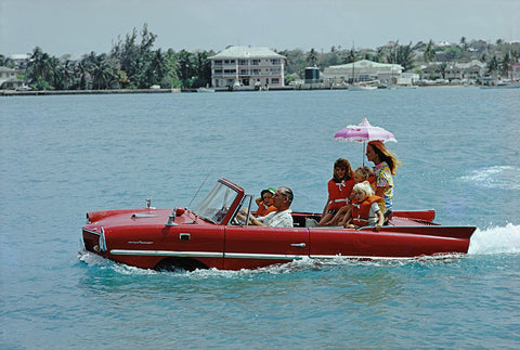 "Slim Aarons - ""Sea Drive"" 1967"