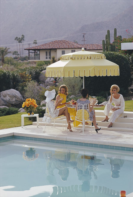 "Slim Aarons - ""Nelda & Friends"" 1970"
