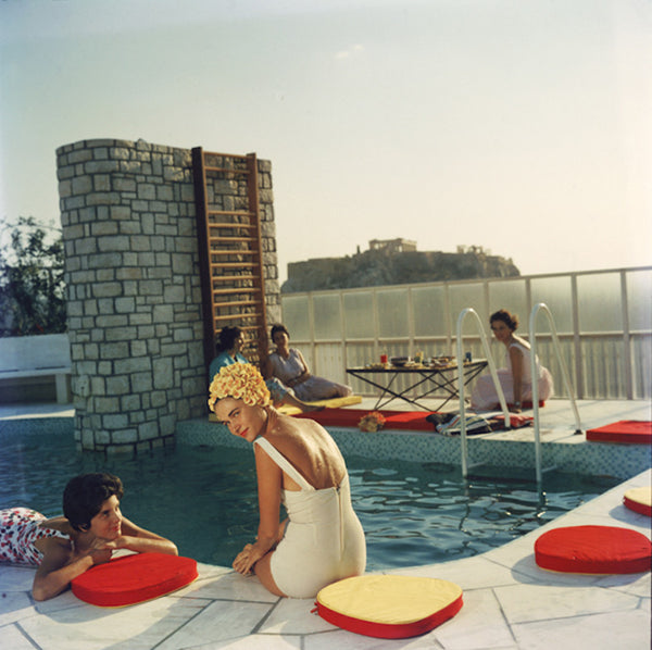 "Slim Aarons - ""Penthouse Pool"" 1961"