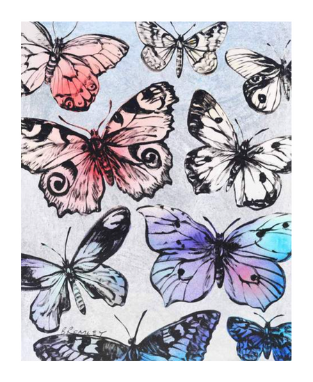 """Butterflies"" by David Bromley"