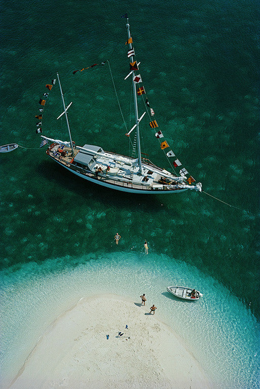 "Slim Aarons - ""Exuma Holiday"" 1964"