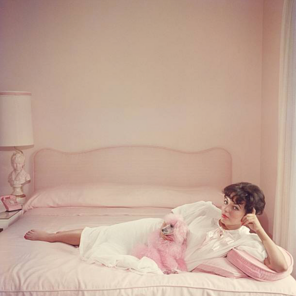 Slim Aarons - Dame Joan Collins 1955