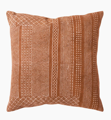 Textured Clay Cushion