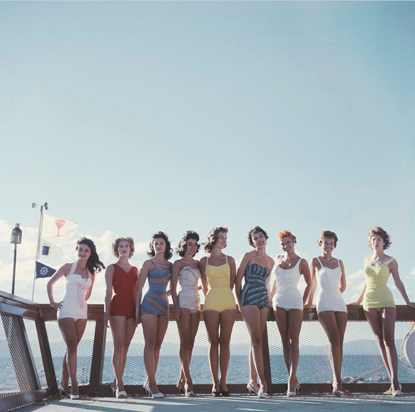 "Slim Aarons - ""Lake Tahoe Ladies"" 1959"