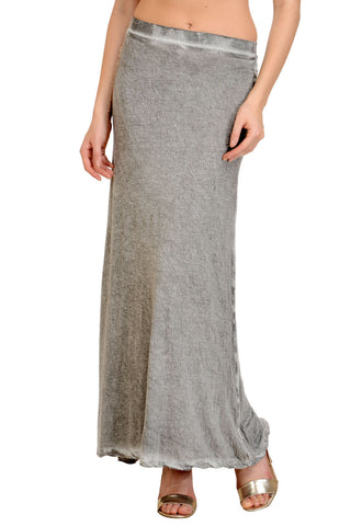Light Grey Maxi Skirt