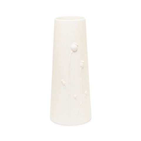 Poppy Vase XL / White