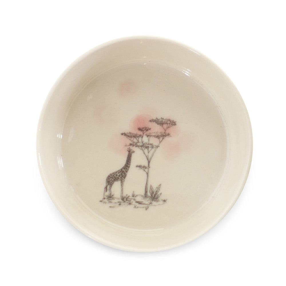 Safari bowl  /  Giraffe pink