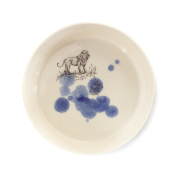 Safari bowl  /  Lion blue