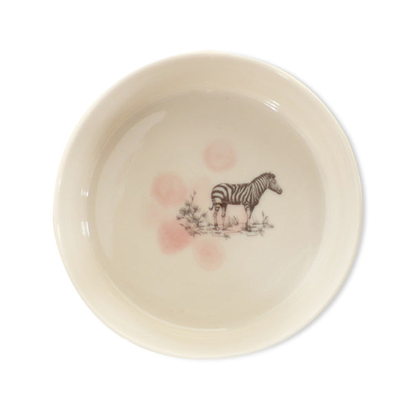 Safari bowl  /  Zebra pink