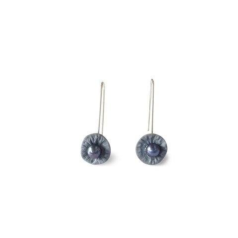 Drop Earrings  /  Grey
