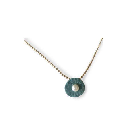 Necklace  /  Dusty green