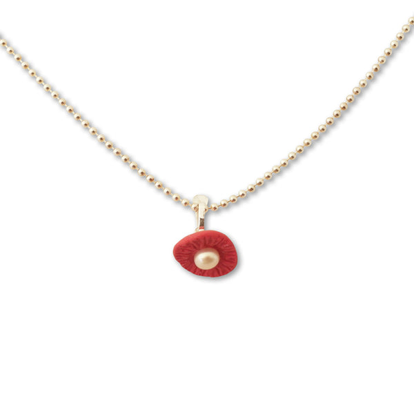 Necklace / Red