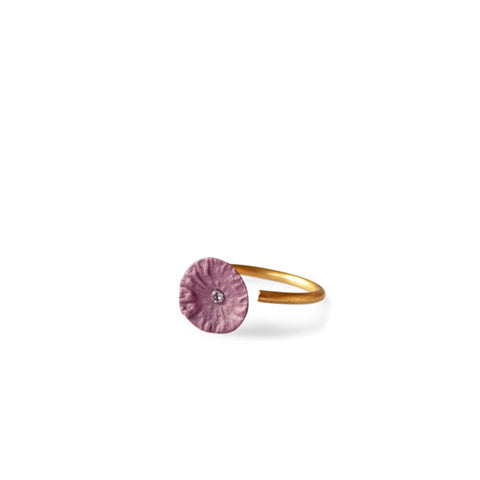 Ring zirconia  /  Plum