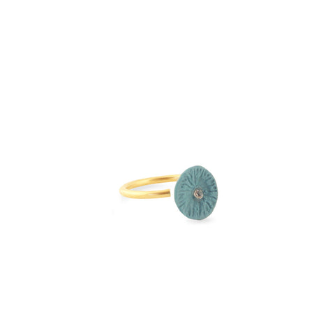 Ring zirconia / dusty green