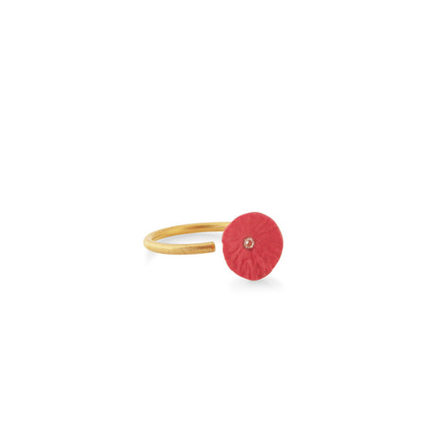 Ring zirconia / red