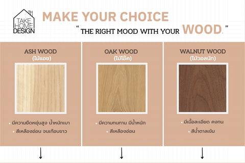 wood types for furniture and differences