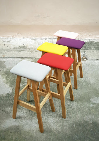 SIM SOFT Stool and Bar Stool