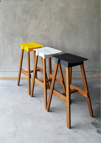 SIM STEEL Bar Stool