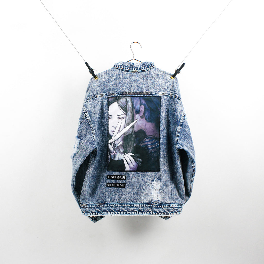 """The Rebel"" Blue Denim Jacket"