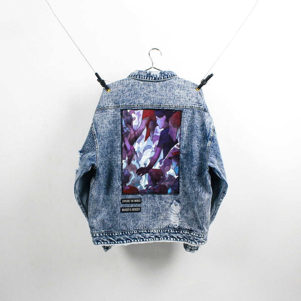 """The Explorer"" Blue Denim Jacket"